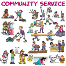 Court assigned community service